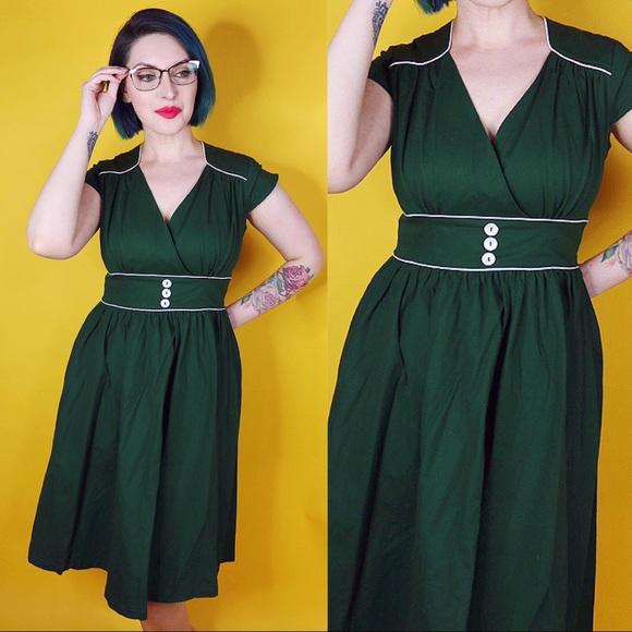 Lindy Bop Dresses & Skirts - Reproduction Vintage Style Circle Dress